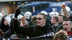 """Demonstration der fremdenfeindlichen """"Pegida""""-Bewegung im Januar 2016 in Köln."""
