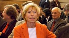 Murri Selle im Jahr 2003 am Rande der Geisendörfer-Preisverleihung im Grossen Sendesaal im Haus des Rundfunks in Berlin.