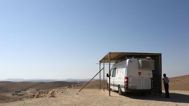 Sprechstunde in der Wüste