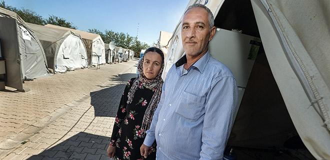 Jesidische Flüchtlingsfamilie Haci