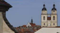 Stadt- und Pfarrkirche St. Marien in der Lutherstadt Wittenberg.