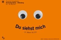 Plakat des Deutschen Evangelischen Kirchentags 2017 Berlin