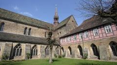 Das Kloster Loccum am Steinhuder Meer in Niedersachsen.