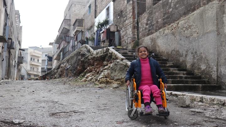 Hanaa (8) aus Aleppo