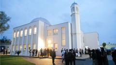 Die Moschee der Ahmadiyya Muslim Jamaat-Gemeinde in Berlin-Heinersdorf.