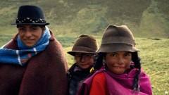 Indios, Kinder, Sierra, Ecuador, Südamerika