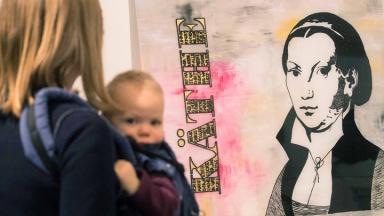 Das Frauenmuseum in Bonn zeigt Bilder zur Rolle der Frauen in der Reformation.