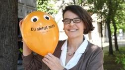Kirchentagspräsidentin Christina Aus der Au.