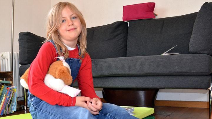 Die sechsjährige Sophie aus München will evangelisch werden