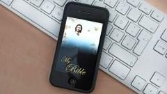 Immer dabei: Die Bibel als App.