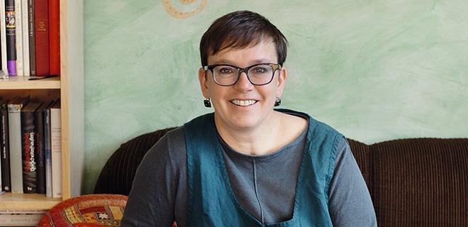 Christiane Thiel, Pfarrerin der ESG Halle in Leipzig