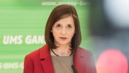 Katrin Göring-Eckardt, Fraktionsvorsitzende der Partei Bündnis 90/Grünen