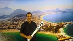 Pfarrer Christian Bode begleitete die behinderten Sportler rund um die Wettkämpfe der Paralympics.