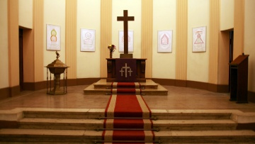 Kalligraphie-Ausstellung in der Kirche der Deutschen Evangelischen Gemeinde in Kairo