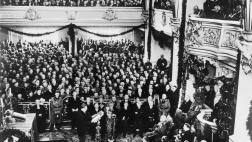 Staasakt zur Eröffnung des Reichstages in der Potsdamer Garnisonkirche