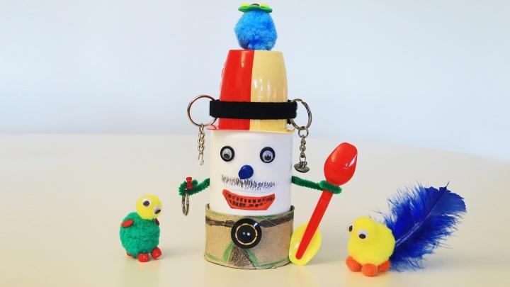 Recycling-Spielzeug