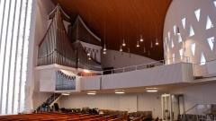 Rund drei Millionen Euro soll die neue Orge in der Kirche St. Nikolai  in Hamburg kosten.