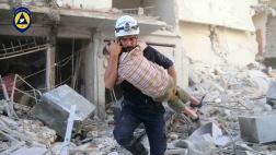 Rettung von Zivilisten im syrischen Bürgerkrieg durch die Freiwilligen-Organisation Weißhelme (Archiv).