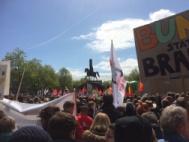 Kundgebung auf dem Kölner Heumarkt gegen den AfD-Bundesparteitag