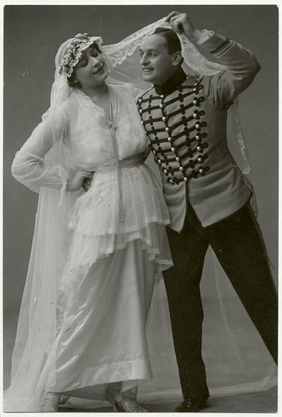 Brautkleid aus den 1910ern