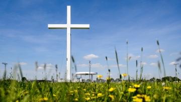 Der Open-Air-Gottesdienst auf den Elbwiesen in Wittenberg ist auch Höhepunkt des Jubiläumsjahres.