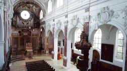 Die evangelische St. Anna-Kirche in Augsburg.