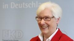 Synodenpräses Irmgard Schwaetzer
