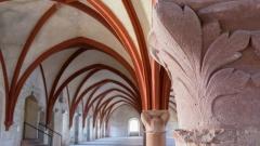Dormitorium der Moenche im Kloster Eberbach in Eltville (Hessen).