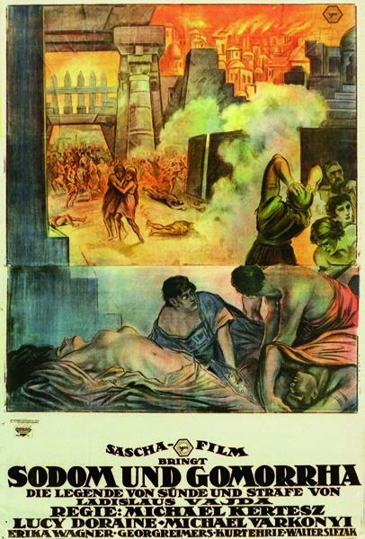 Sodom und Gomorrha, Österreich 1922, Michael Curtiz