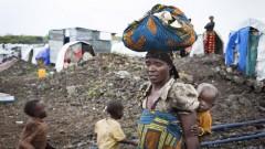 Flüchtlinge im Lager Mugunga.