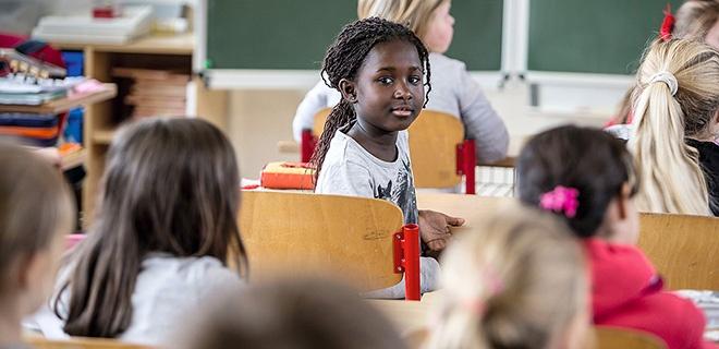 Flüchtling in Grundschule in Mecklenburg