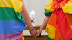 Segensgottesdienst anlaesslich der Hochzeit eines lesbischen Paares