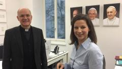STATIONEN-Moderatorin Irene Esmann zum Thema Kirchensteuer