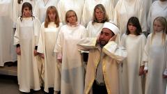 """Generalprobe des Oratoriums """"The Armed Man"""" im Jahr 2007 in der evangelischen Stadtkirche von Rotenburg (Archiv)."""