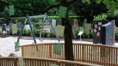 Spielplatz für trauernde Kinder auf Karlsruher Friedhof