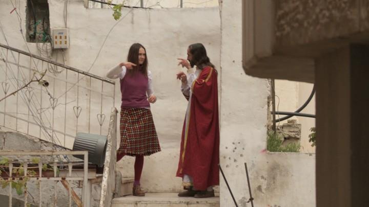 """Screenshot aus dem Video """"Looking for Jesus"""" von Katarzyna Kozyra"""