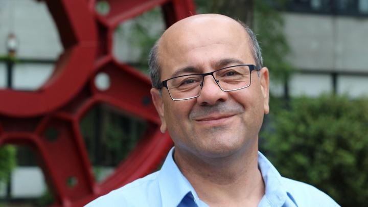 Der Ingenieurwissenschaftler Salim Jallouf floh mit seiner Familie vor dem Krieg in Syrien.