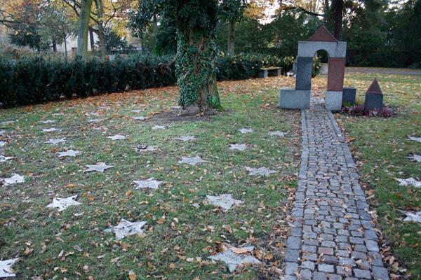 Kindergrabmal auf dem Hanauern Hauptfriedhof