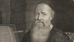 Menno Simons, gemalt von Jacob Burghart (Ausschnitt).