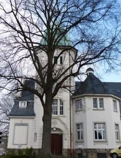 Außenansicht der Thomaskirche in Wuppertal
