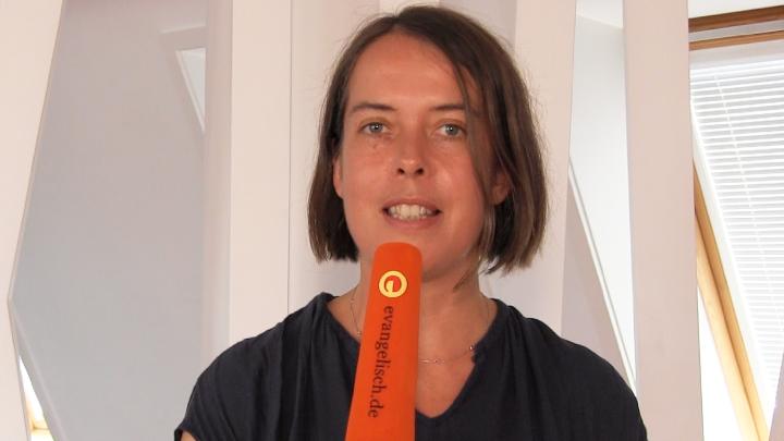 """Christine Buchholz, Sprecherin für Religionspolitik der Partei """"DIE LINKE""""."""