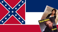 Montage aus Mississippi-Flagge und CD-Covern Springsteen, Adams.jpg