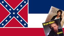 Montage aus Mississippi-Flagge und CD-Covern Springsteen, Adams.jpg