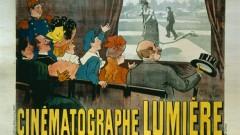 """Plakat """"Cinematographe Lumière"""" von 1896"""