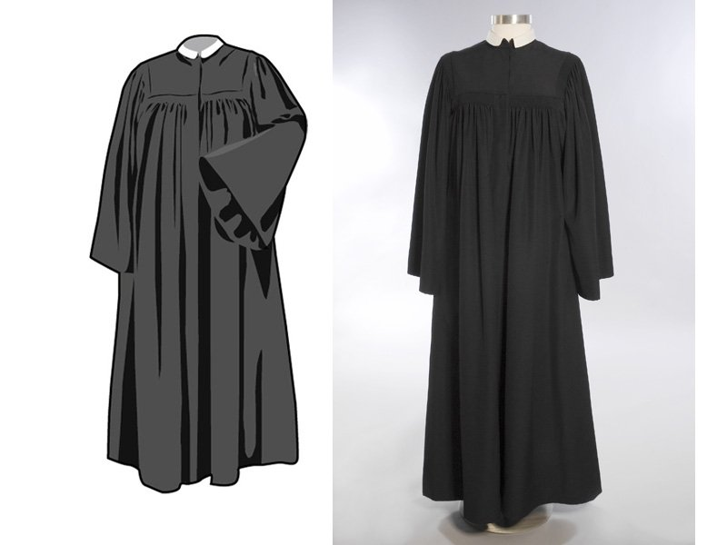 Evangelischer Pfarrer Kleidung