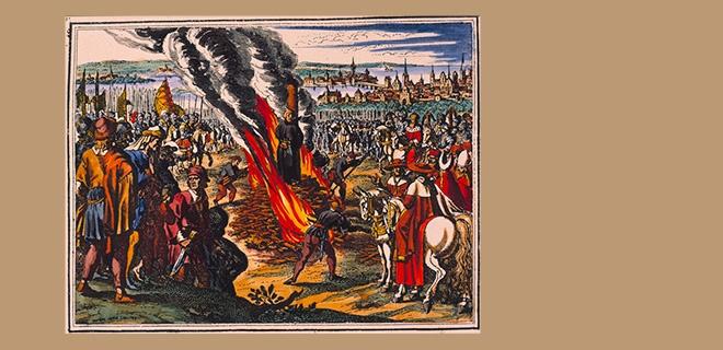 Hinrichtung Jan Hus