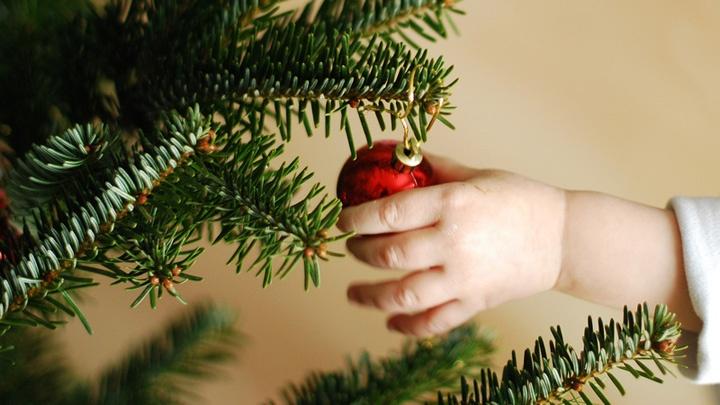 Weihnachten mit Kind