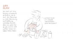 Weihnachtsgeschichte als Comic