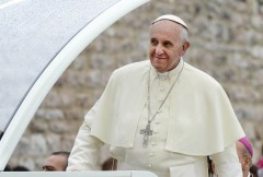 Papst Franziskus in Assisi