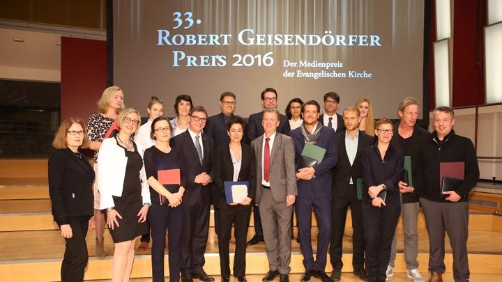 Die Preisträger der Robert-Geisendörfer Medaille 2016